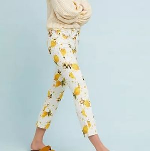 FUN Pilcro Lemon Jeans from Anthropologie NWT